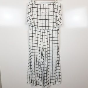 (NWT) Size L She and Sky Strapless Jumpsuit